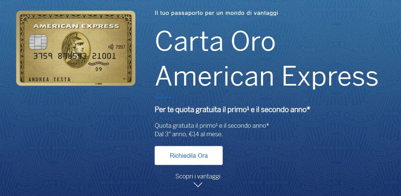 carta di credito con fido di 1500 euro