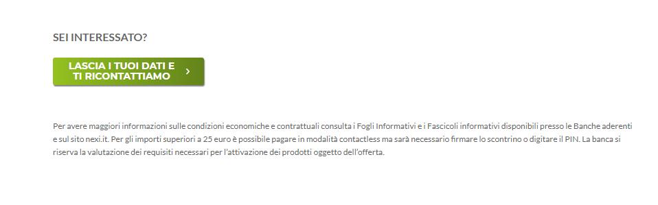 carta di credito crédit agricole aprire conto