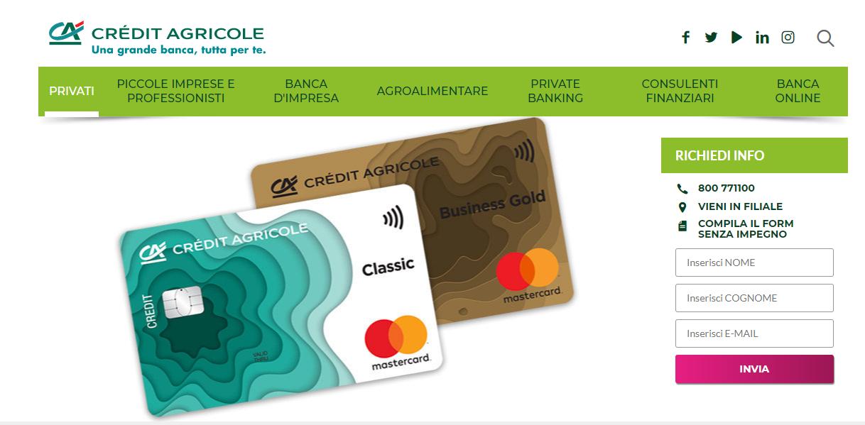 crédit agricole carta nexi