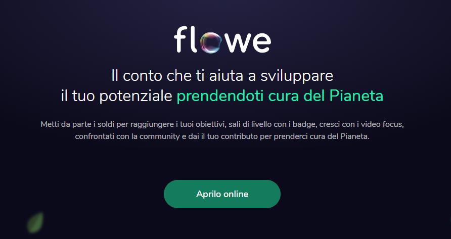 flowe conto under 30