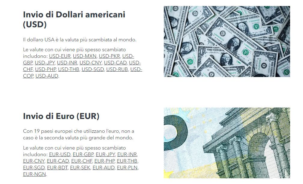 monito invio euro