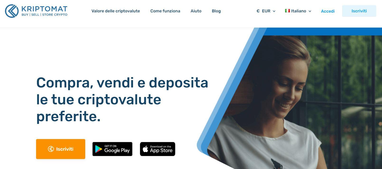 piattaforma exchange criptovalute