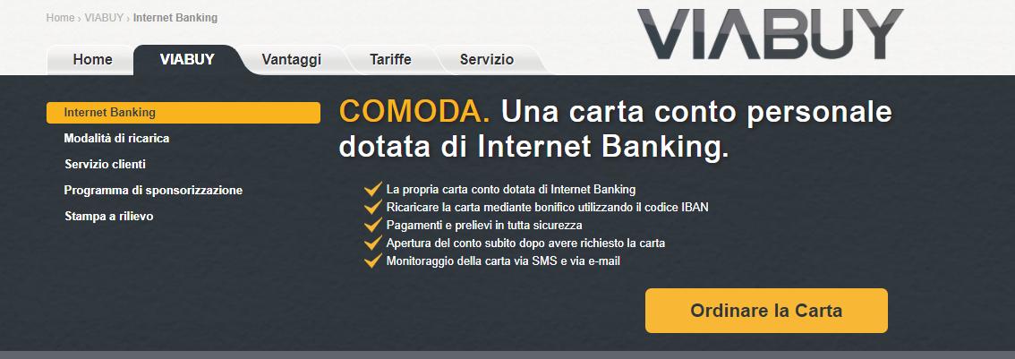 carta di credito prepagata più conveniente