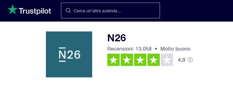 n26 smart trustpilot