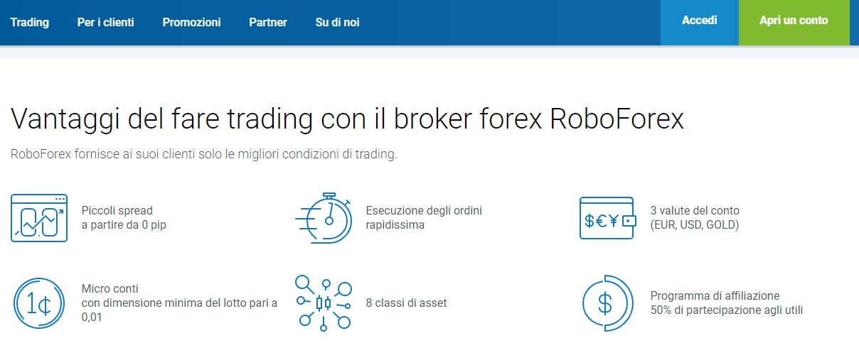 roboforex come funziona