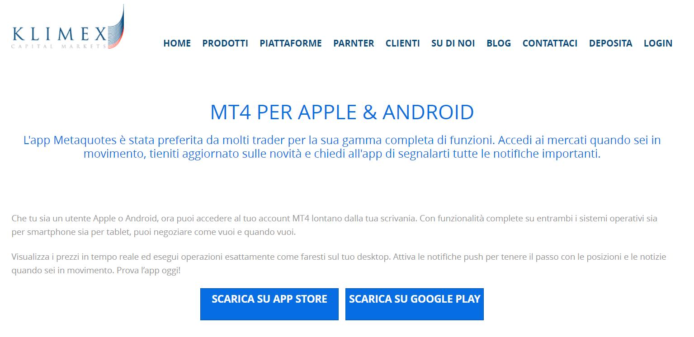 app trading conto demo