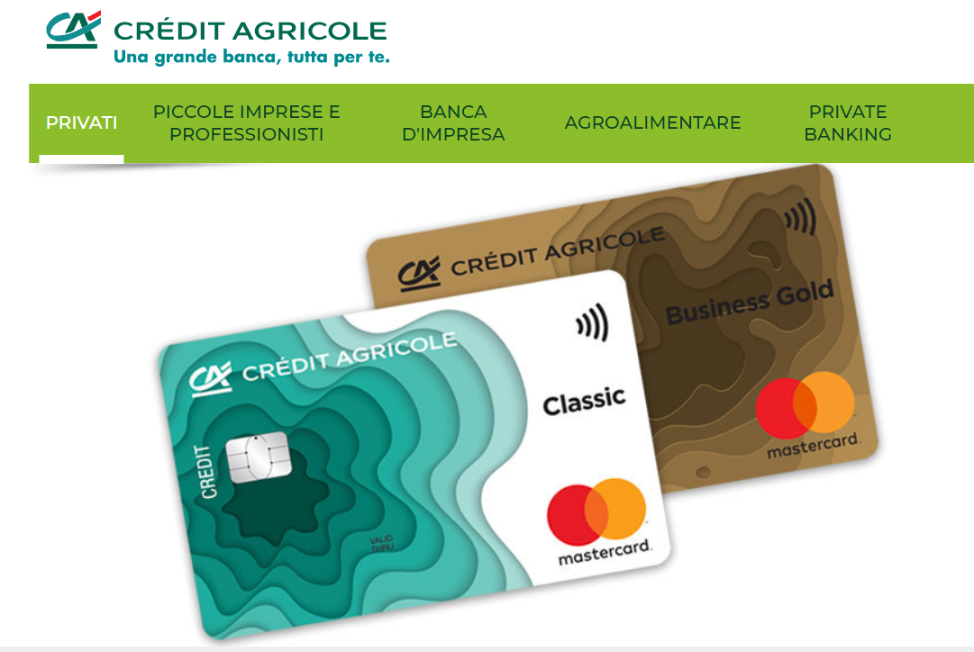come si può avere una carta di credito