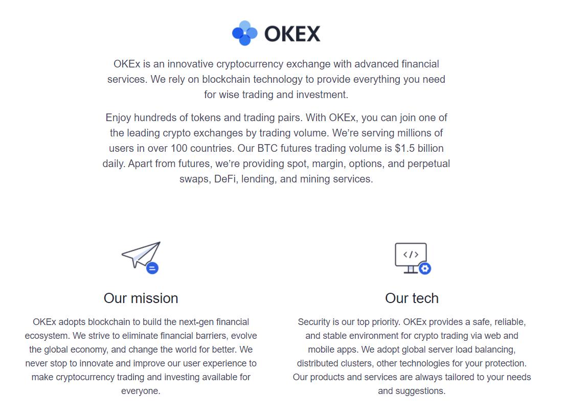 cos'è okex