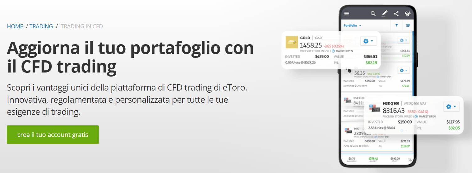 miglior broker cfd trading