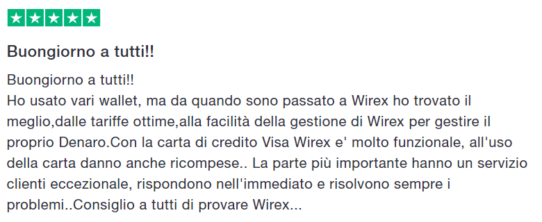 recensioni wirex