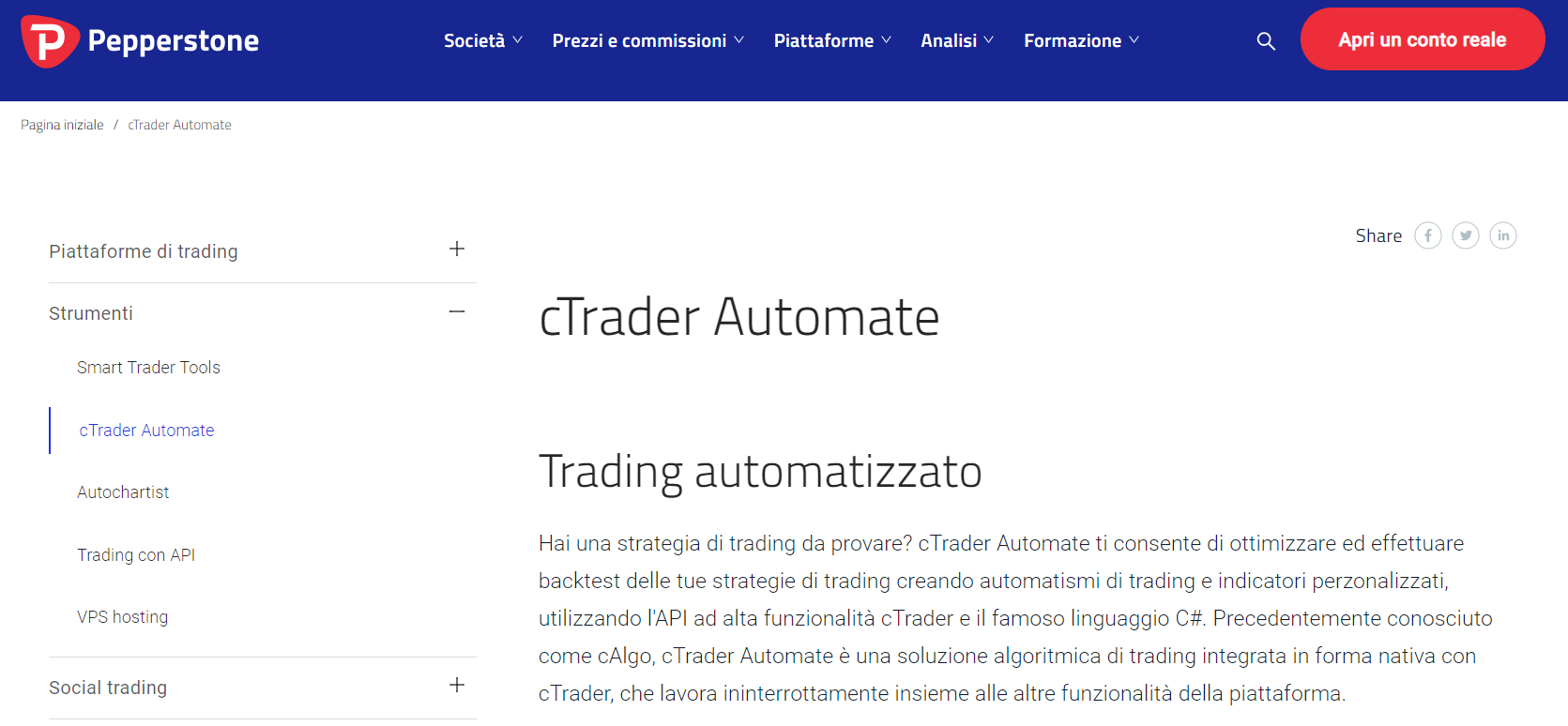 software trading automatico