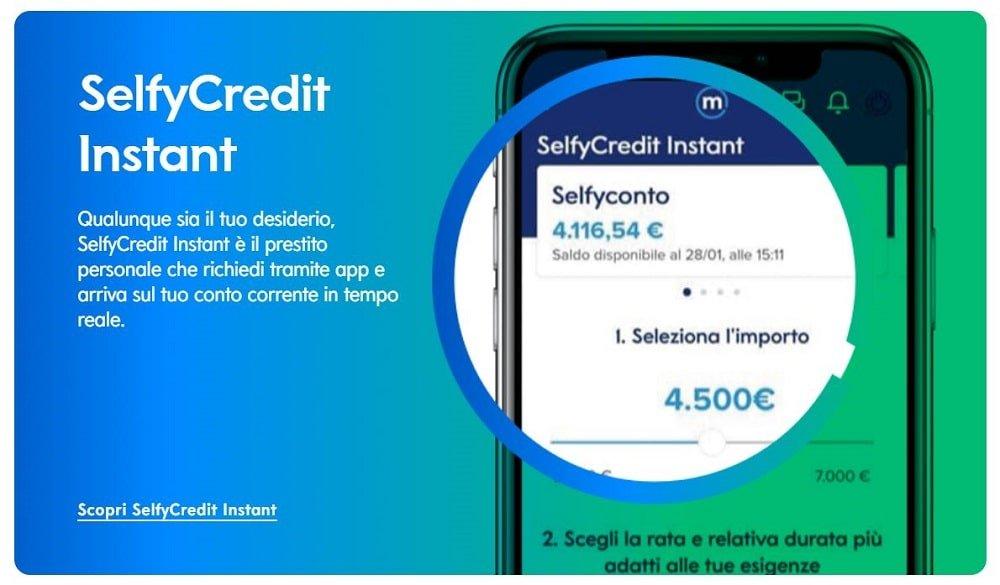 slefy credit istant