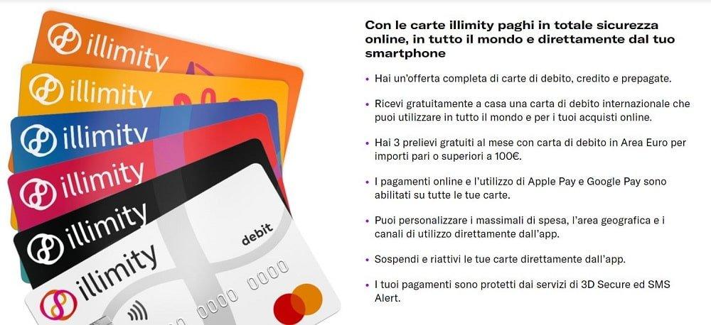 carte di credito con bonus di benvenuto