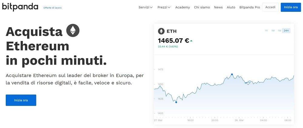 mining ethereum prezzo