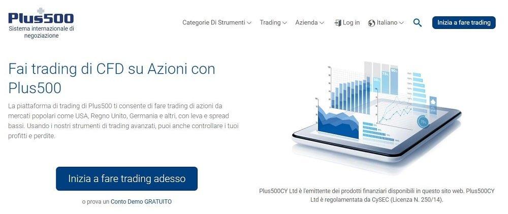 piattaforma trading cfd azioni