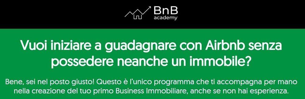 bnb academy investimenti immobiliari online
