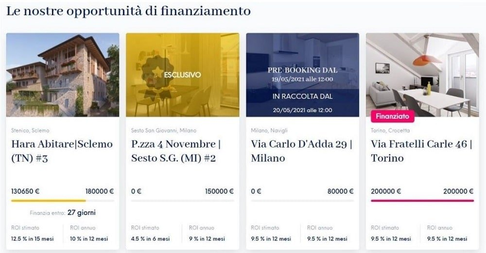campagna crowdfunding italia