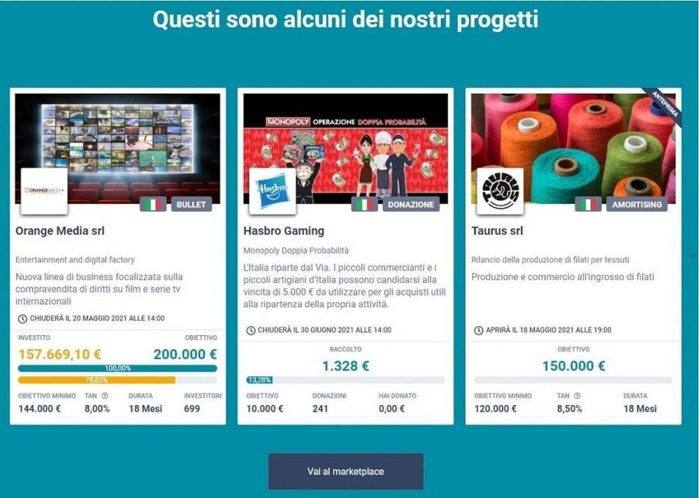 crowdfunding in italia