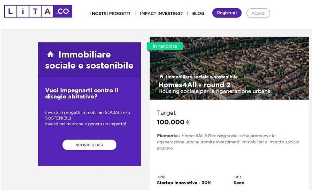 migliore piattaforma crowdfunding italia