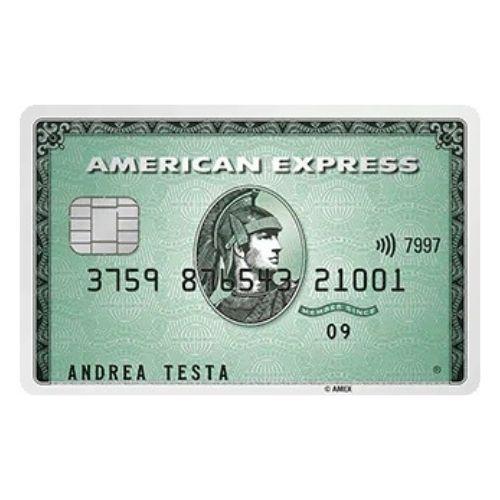 carta di credito verde american express