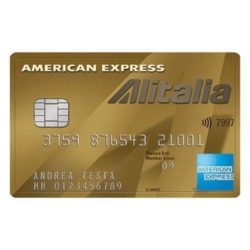 carta di credito alitalia oro american express