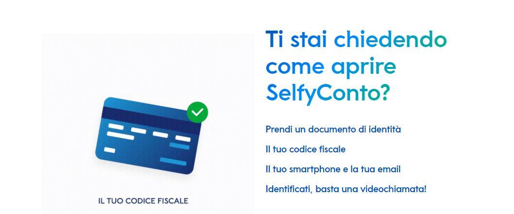 carta di credito selfy mediolanum aprire un conto