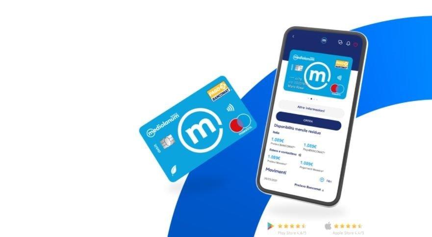carta di credito selfy mediolanum